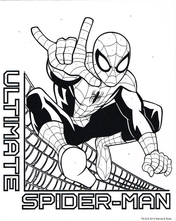 Spider-Man Color/Activity (Tri-Coastal) [in Comics > Books