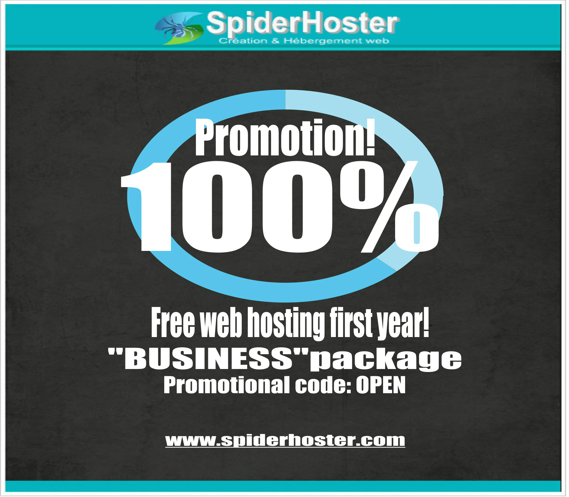 100% discount on Business webhosting package
