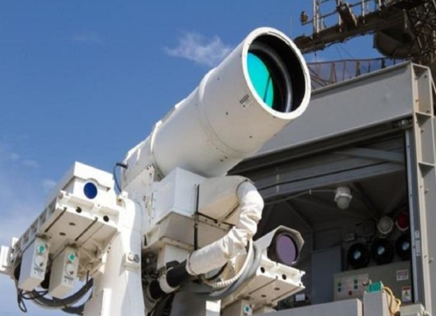 Anti-drone laser weapon