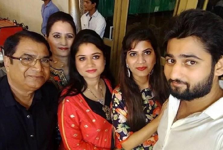 राकेश सहगल का परिवार