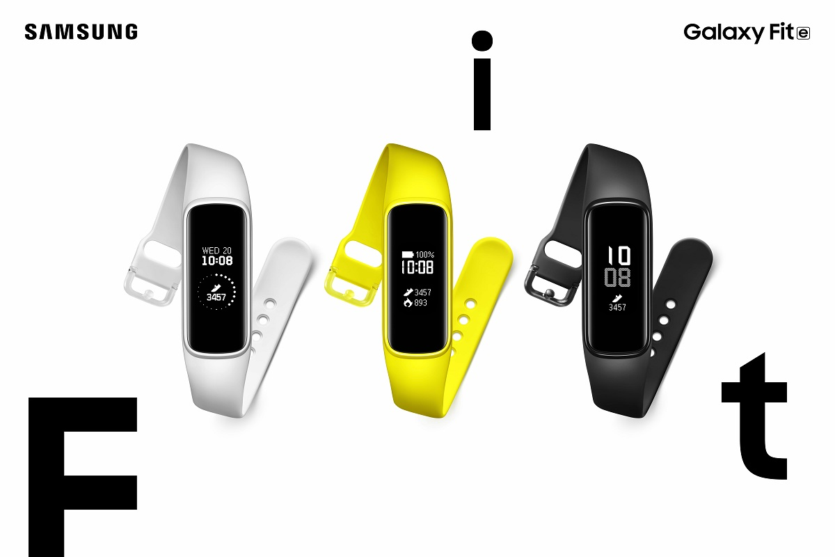 Samsung Galaxy Watch Active. Galaxy Fit. Galaxy Fit E Launched In India. Price And Specifications - सैमसंग ने भारत ...