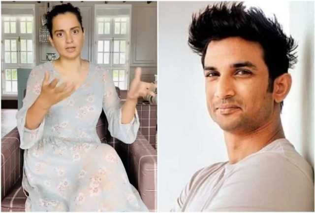 Kangana Ranaut Slams Bollywood For Sushant Singh Rajput Suicide ...