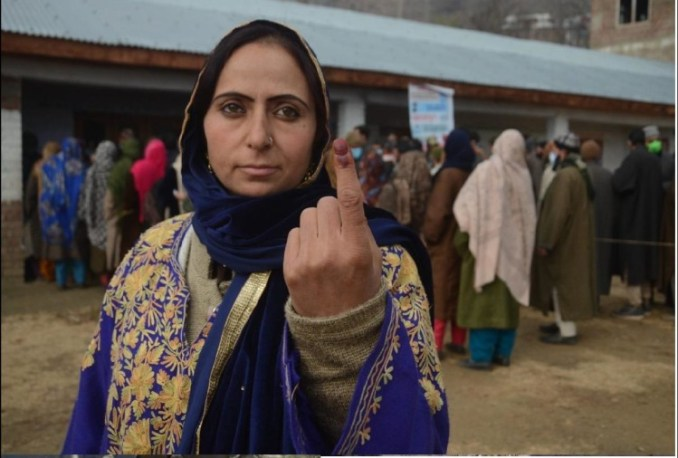 Women will be District Council President, 33 percent reservation in seven districts of Jammu and Kashmir