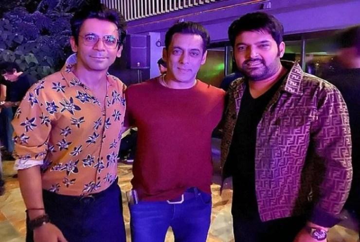 सुनील ग्रोवर, सलमान खान और कपिल शर्मा