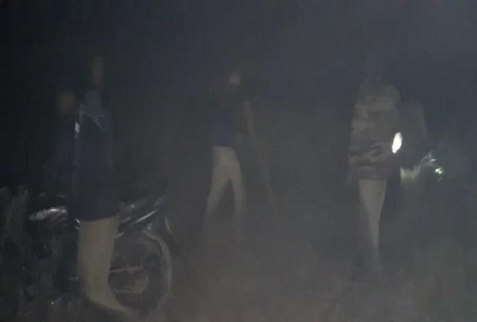घटना के बाद पहुंची पुलिस