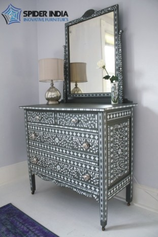 bone-inlay-4-drawer-dresser-with-mirror-from-jodhpur