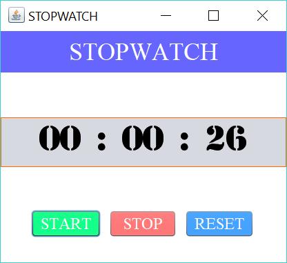 stopwatch start