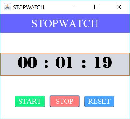 stopwatch stop