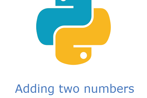 add two numbers in python