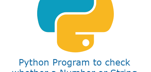python program to check whether a number or string is a palindrome or not