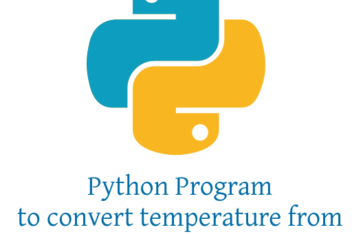 Python Program to convert temperature from Celsius to Fahrenheit