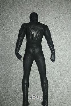 Hot Toys Black Suit Spiderman 3 Tobey Maguire Sideshow