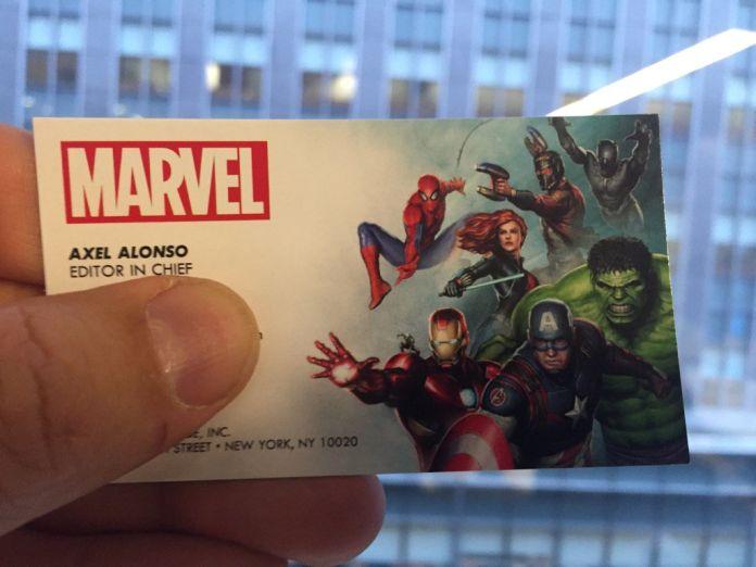 MarvelBusinessCard