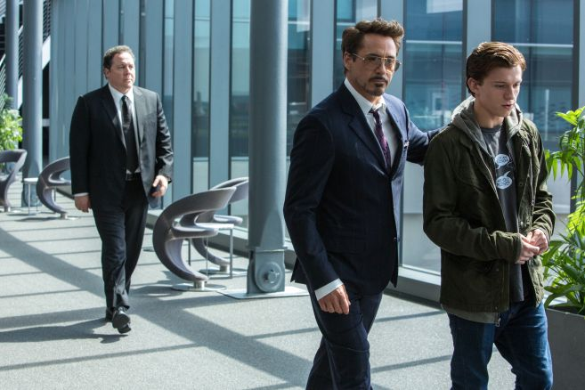 Jon Favreau;Robert Downey Jr;Tom Holland