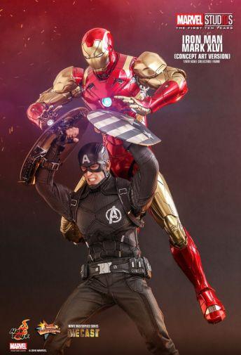 Hot Toys - Iron Man Mark XLVI - Concept Ver - 03