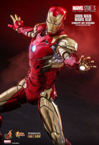 Hot Toys - Iron Man Mark XLVI - Concept Ver - 06
