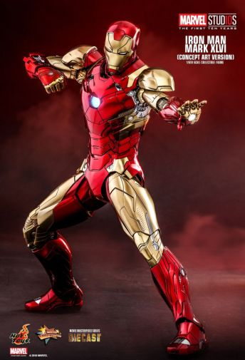 Hot Toys - Iron Man Mark XLVI - Concept Ver - 09