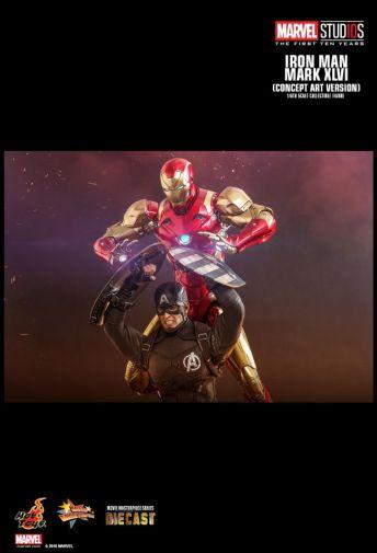 Hot Toys - Iron Man Mark XLVI - Concept Ver - 13