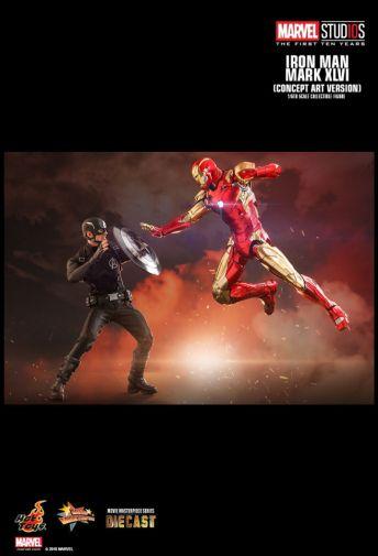 Hot Toys - Iron Man Mark XLVI - Concept Ver - 14