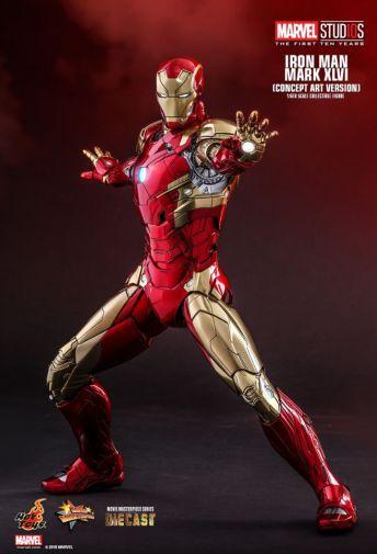Hot Toys - Iron Man Mark XLVI - Concept Ver - 22