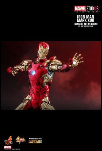 Hot Toys - Iron Man Mark XLVI - Concept Ver - 25