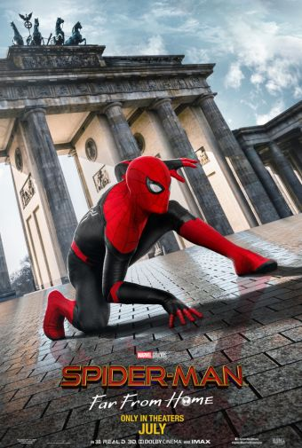 Spider-Man Far From Home - Official Images - Movie Poster - 02