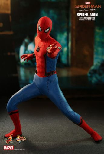 Hot Toys - Spider-Man Far From Home - Spider-Man Movie Promo Edition - 05