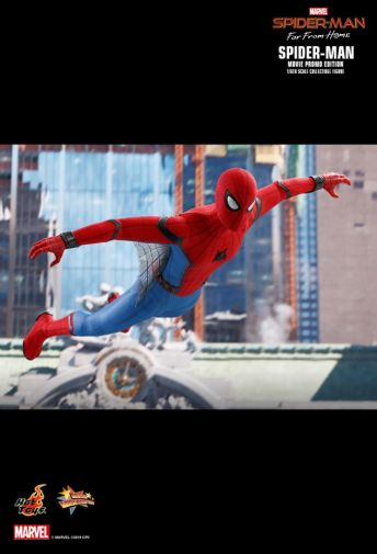 Hot Toys - Spider-Man Far From Home - Spider-Man Movie Promo Edition - 09