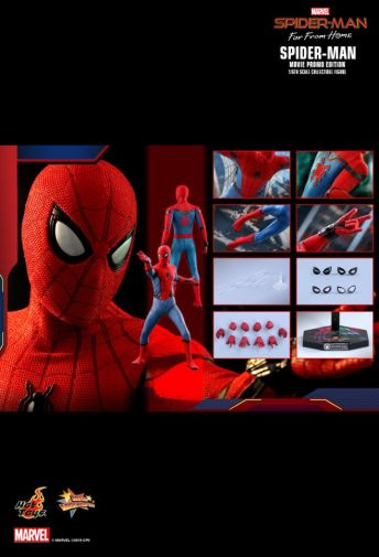Hot Toys - Spider-Man Far From Home - Spider-Man Movie Promo Edition - 13