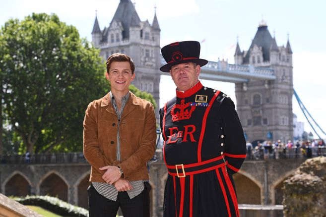 Spider-Man: Far From Home photocall
