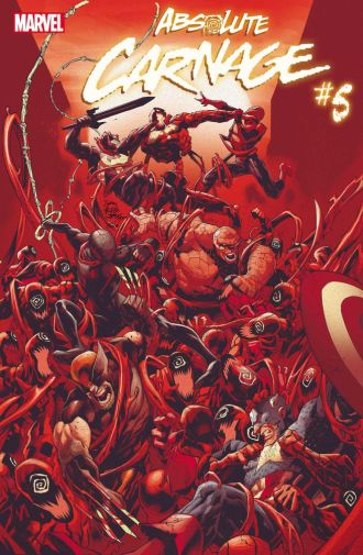 Marvel Comics - Absolute Carnage - issue 05 - Cover