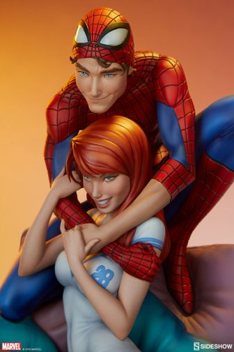 Sideshow - Spider-Man and Mary Jane - Maquette - 14