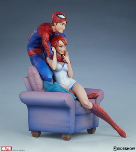 Sideshow - Spider-Man and Mary Jane - Maquette - 16