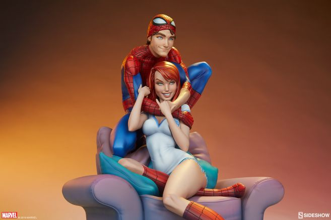 Sideshow - Spider-Man and Mary Jane - Maquette - 17