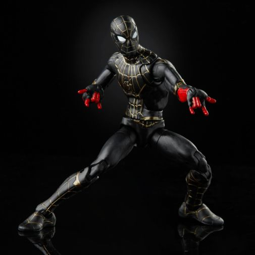 Hasbro - Spider-Man No Way Home - Spider-Man Black and Gold Suit - Announcement - 01