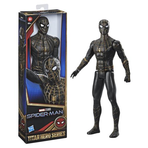 Hasbro - Spider-Man No Way Home - Titan Hero Series - Black and Gold Costume - Announcement - 01