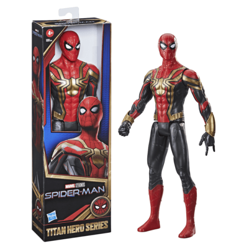 Hasbro - Spider-Man No Way Home - Titan Hero Series - Red and Blue Costume - Announcement - 01