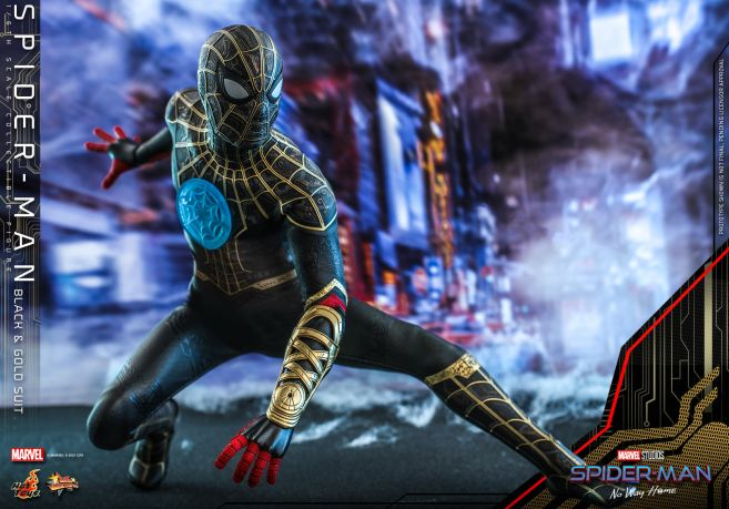 Hot Toys - Spider-Man - No Way Home - Black Suit - 03
