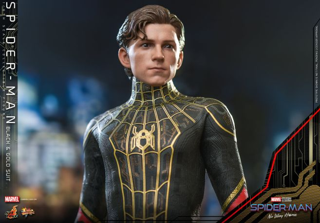 Hot Toys - Spider-Man - No Way Home - Black Suit - 09