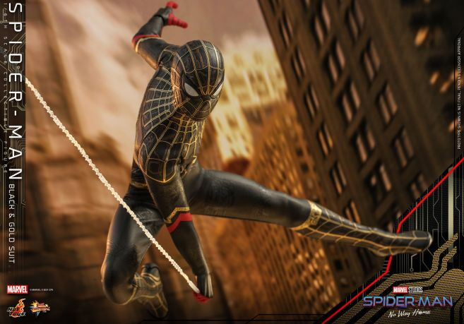 Hot Toys - Spider-Man - No Way Home - Black Suit - 11
