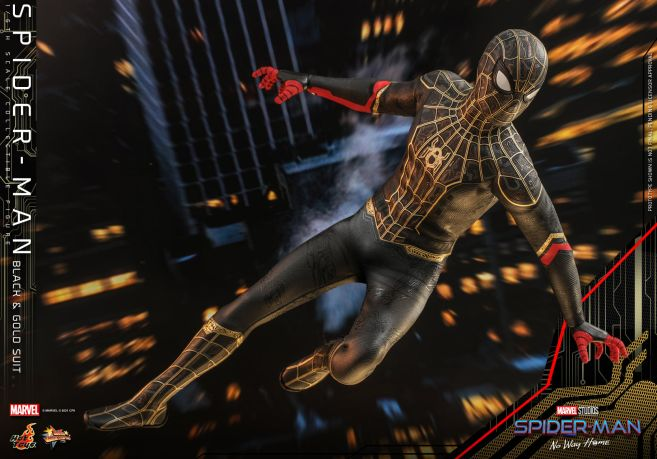 Hot Toys - Spider-Man - No Way Home - Black Suit - 12
