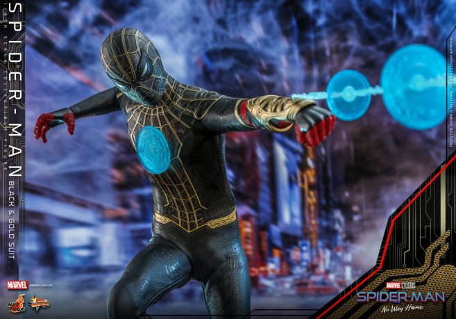 Hot Toys - Spider-Man - No Way Home - Black Suit - 16