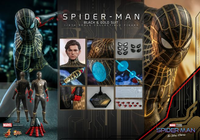 Hot Toys - Spider-Man - No Way Home - Black Suit - 18