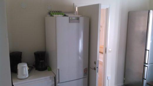 Uno dei due frigoriferi