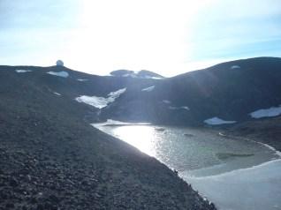 Big ol' pond along the trail