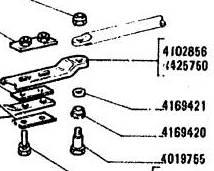 FIAT X1/9 128 YUGO 4102856 SHIFT COUPLER