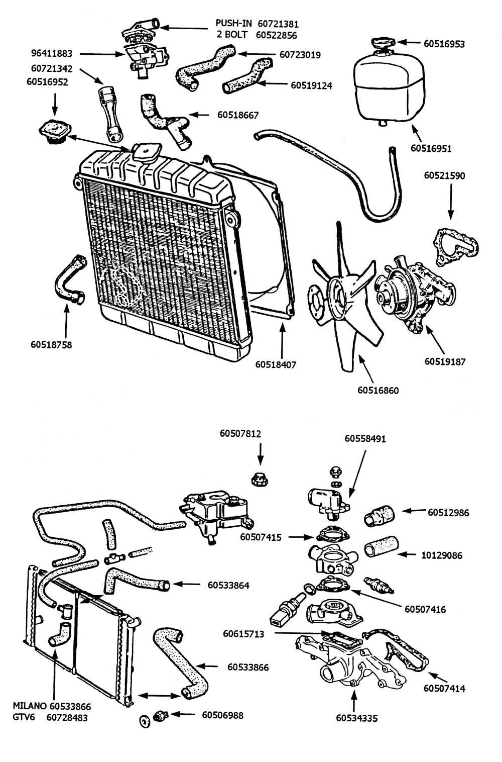 Alfa Romeo Spider Parts