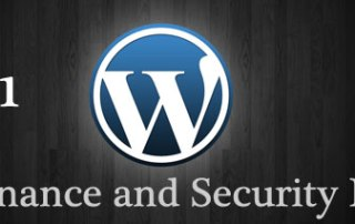 WordPress 3.4.1 - Maintenance and Security Release