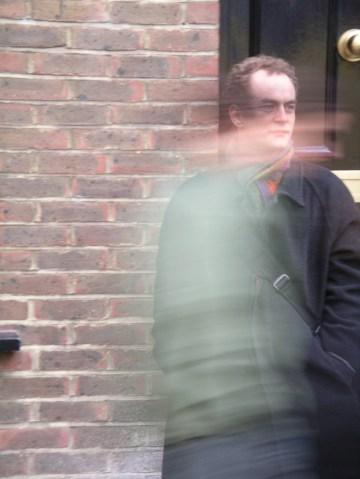 portrait of a man in london