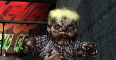 mugshot zombie baby trump